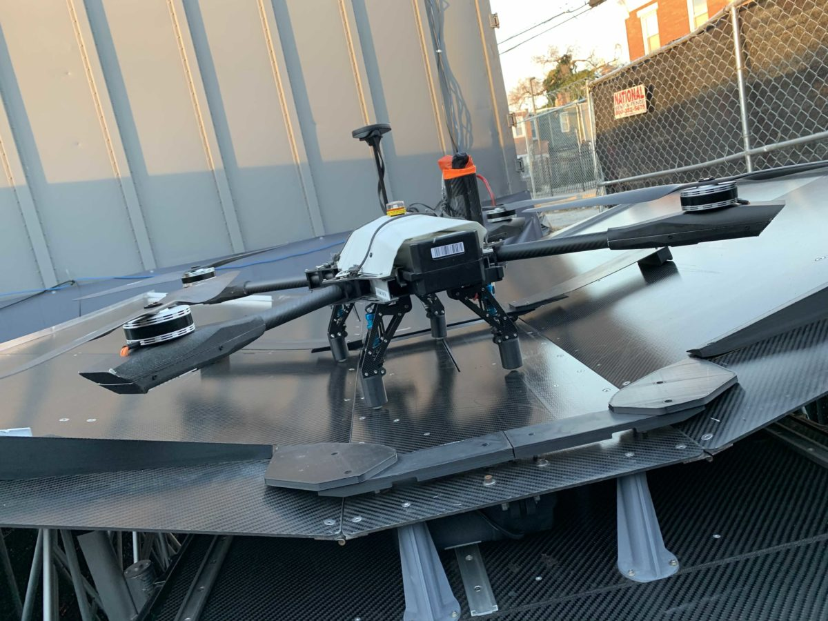 This East Falls startup, makers of an automated drone hub, raised $1M