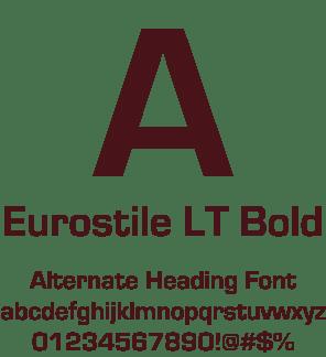 Eurostile-font